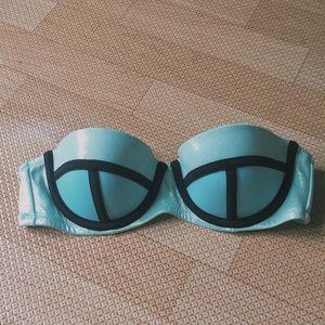 victoria secret super cute strapless bikini top